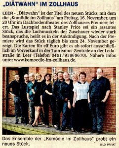 Ostfriesenzeitung vom 18.09.2018